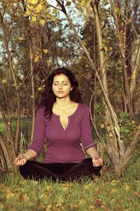silence meditation