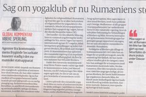 The MISA Case has Already Begun to Influence Romania's Integration in the European Union