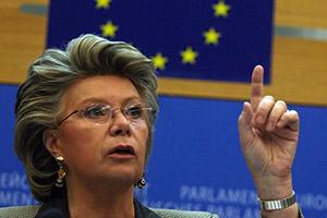 EU Commissioner Viviane Reding's Live Talk on the Romanian Misuse of EU Mechanisms in Relation to the Gregorian Bivolaru Case