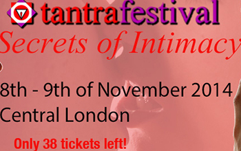 Tantra Festival in London, 8th-9th of November 2014