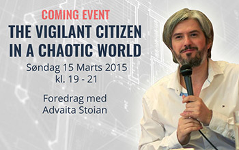 The Vigilant Citizen in a Chaotic World, 15th March, Copenhagen