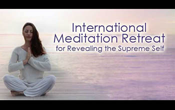 International Meditation Retreat for Revealing the Supreme Self 26th Dec 2016 – 6th Jan 2017