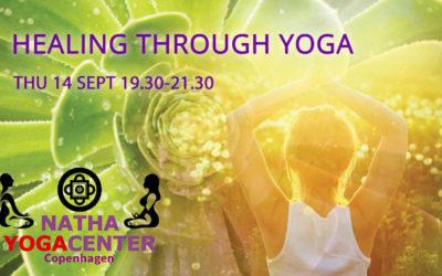 14 September 2017, Copenhagen, Denmark – Healing Through Yoga