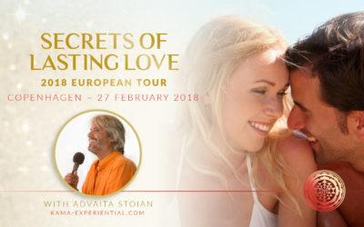 27 February 2018, Copenhagen, Denmark – Secrets of Lasting Love