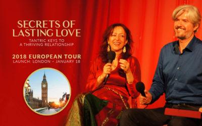 18 January 2018, London, UK – Secrets of Lasting Love