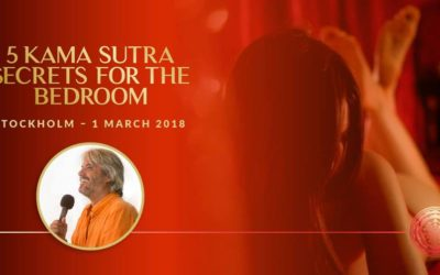 1 March 2018, Stockholm, Sweden – 5 Kama Sutra Secrets for the Bedroom