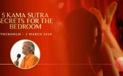 1 March 2018, Stockholm, Sweden – 5 Kama Sutra Secrets for the Bedroom